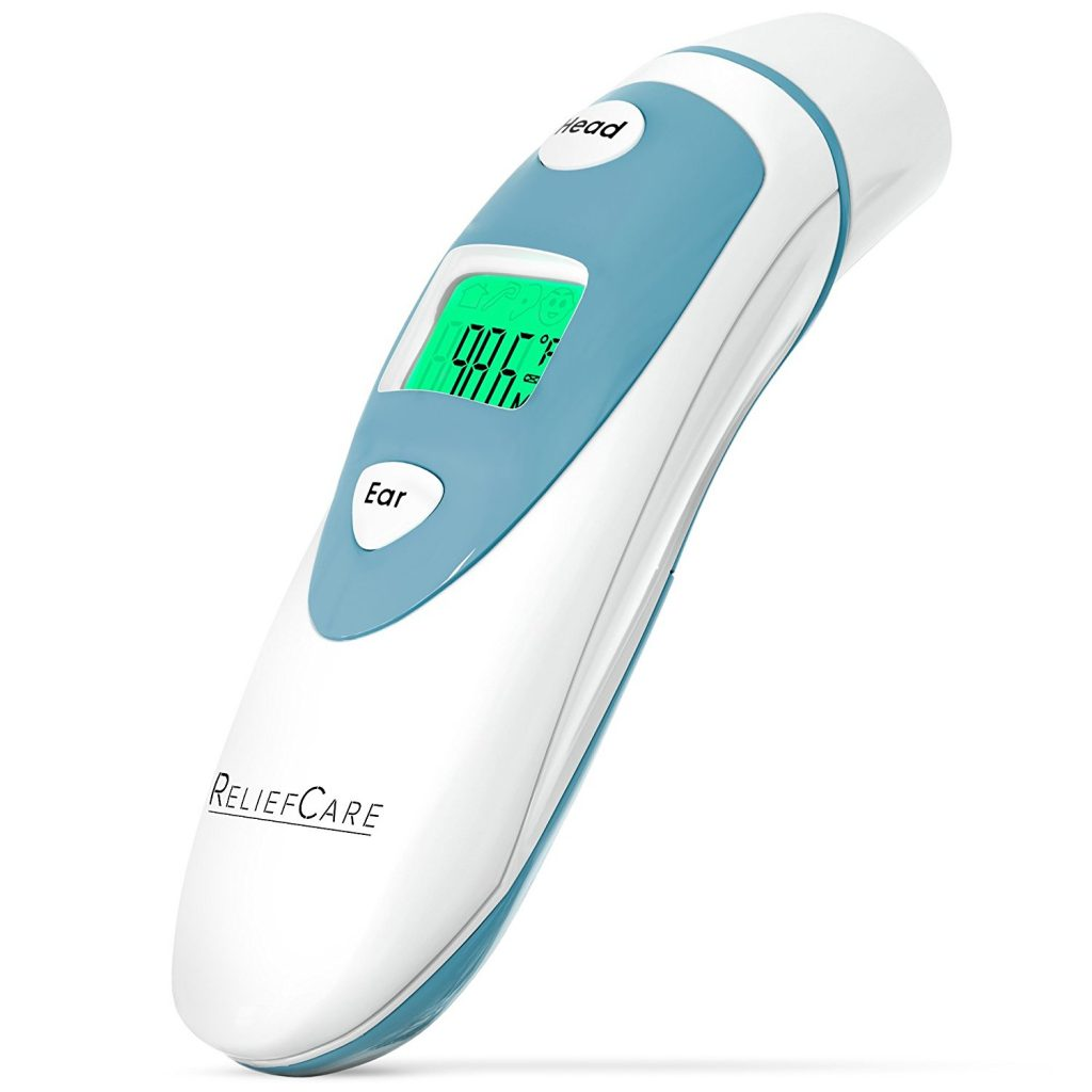 ReliefCare Digital Forehead and Ear Infrared Thermometer