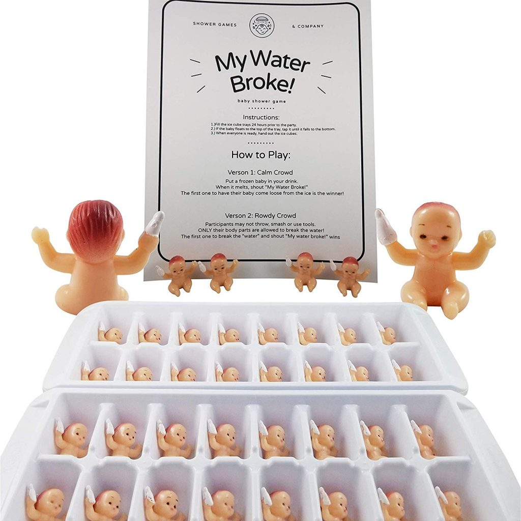 My Water Broke Baby Shower Game with Tiny Plastic Babies