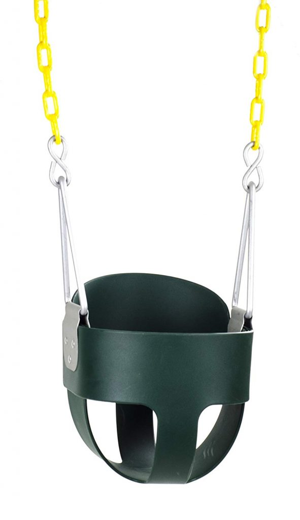 Squirrel Products High Back Full Bucket Toddler Swing Seat