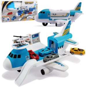 Tuko Transport Cargo Airplane Car Toy Play Set