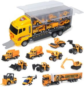 zoordo Construction Truck Toys Sets