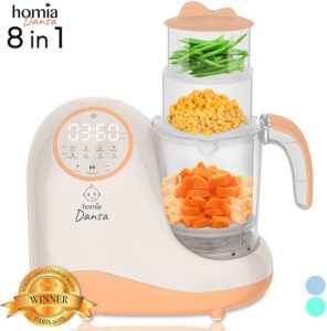 Baby Food Maker Chopper Grinder by Homia
