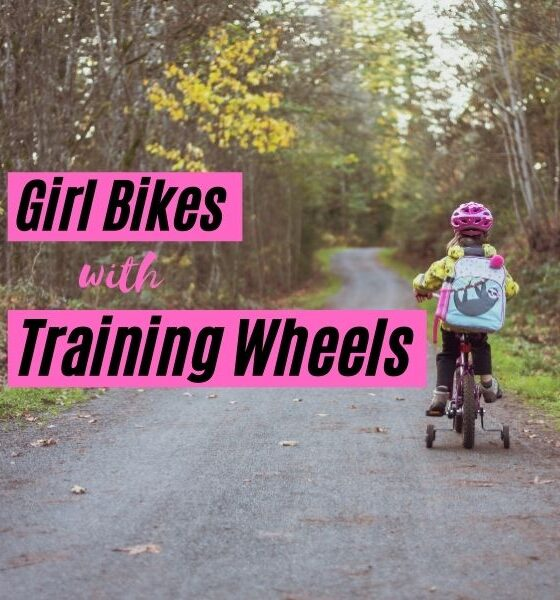 Girl Bikes with Training Wheels